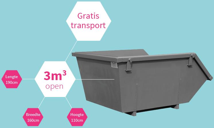 Container 3m3